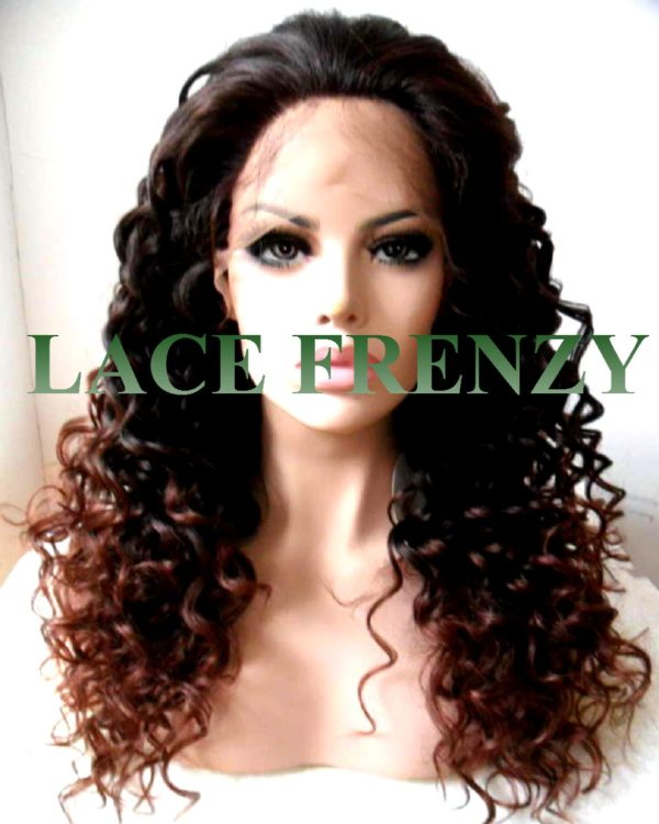 Claudia- Deep Curly- Lace Front Wig