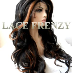 Dawn -24 Inches-Body Curls - Lace Front Wig