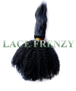 grade 6a virgin hair kinky afro braid-in bundle