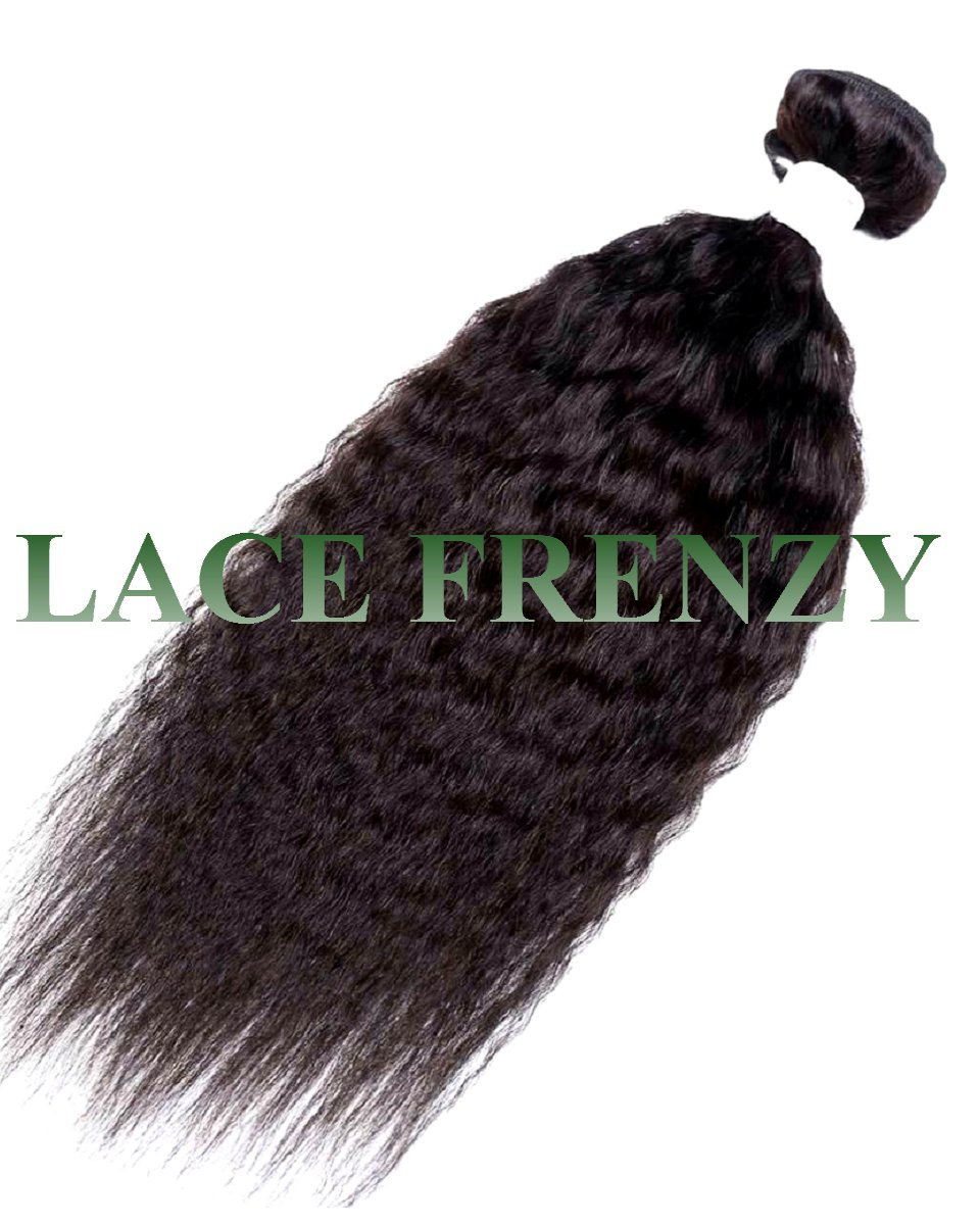 Peruvian Virgin Hair KInky Straight -100g Machine Weft
