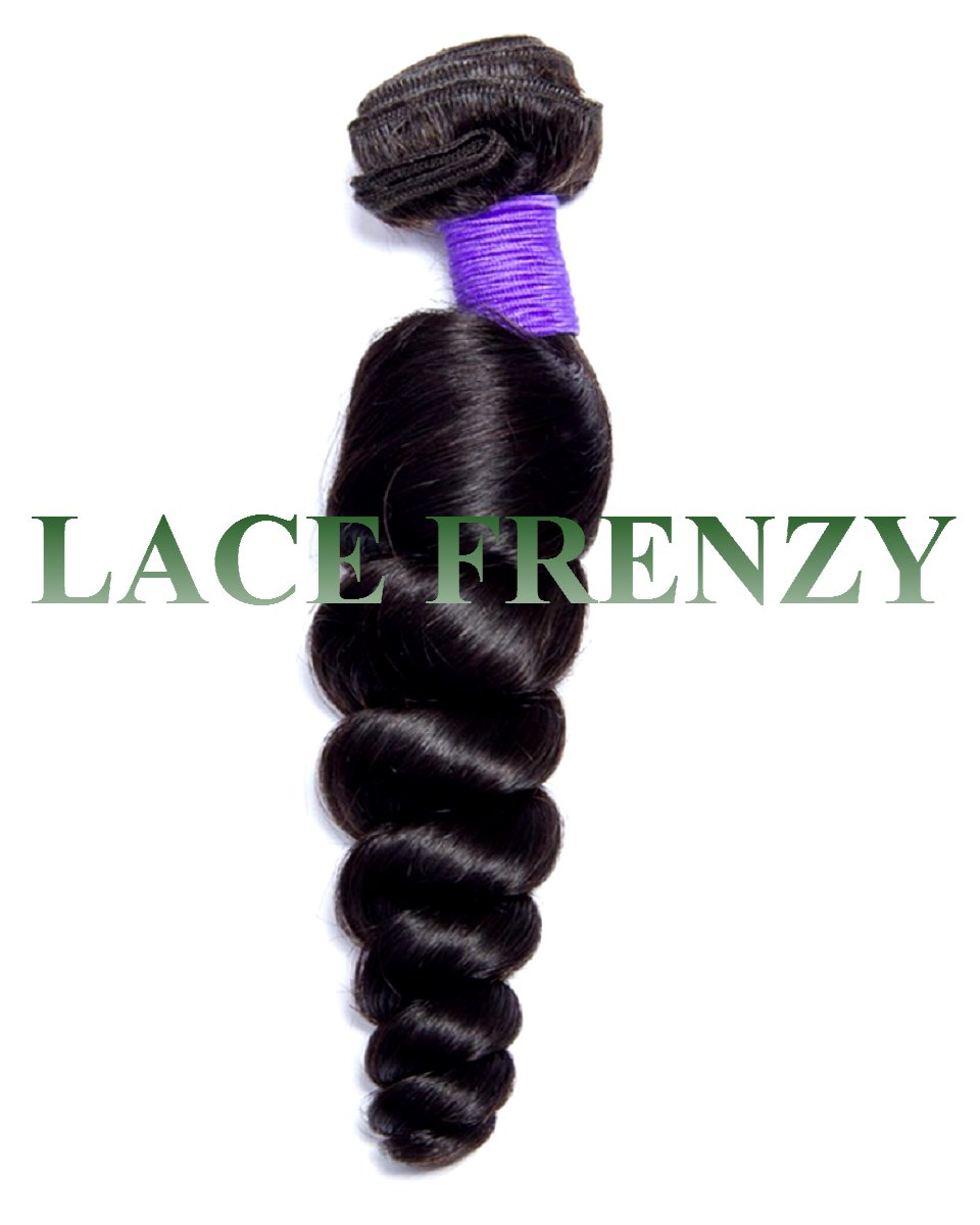 malaysian virgin hair loose wave 100g machine weft