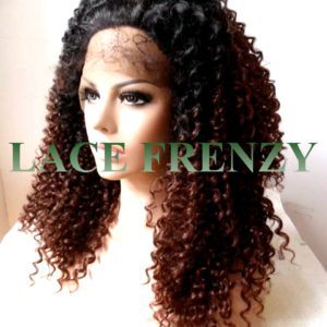 parker - tight curls - lace front wig