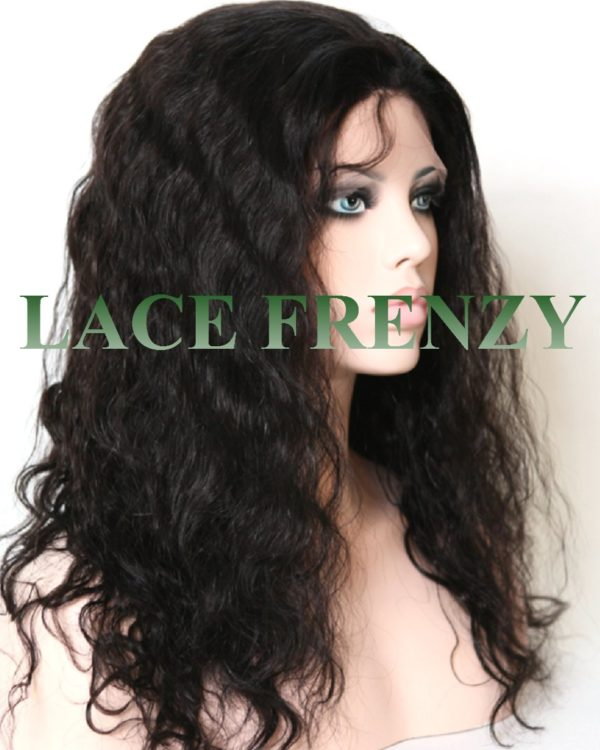 Serena- Natural Wave- Indian Remy Hair- Full Lace Wig