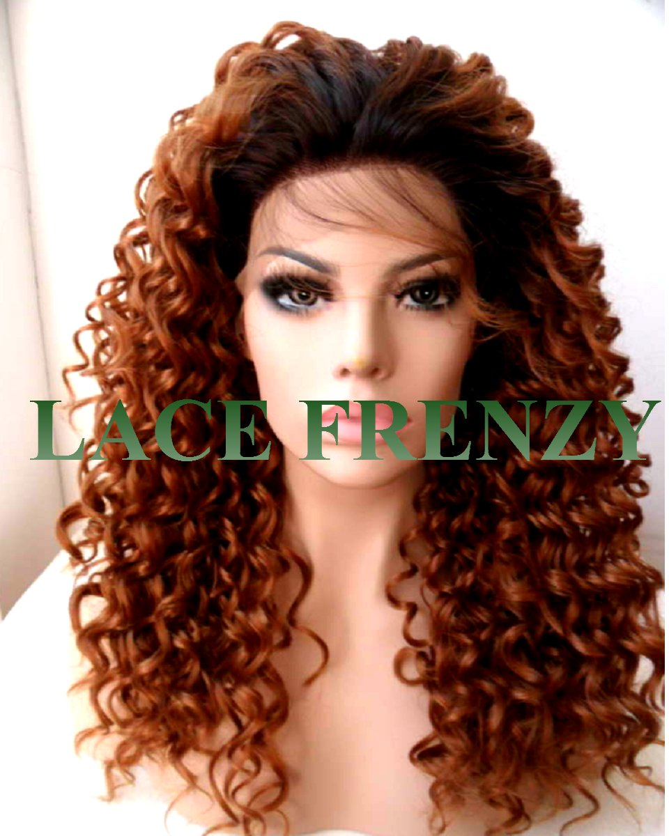 kayleen - curly - lace front wig