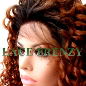 Kayleen- curly- Lace Front Wig