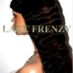 Kim - 20 Inches - Wavy - Custom Full Lace Wig