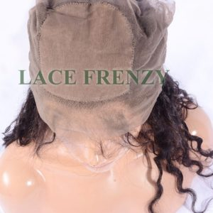 Custom - Loose Wave -Virgin Human Hair - Silk Base 360 Lace Frontal