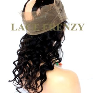 Virgin Human Hair - Body Wave - 360 Lace Frontal