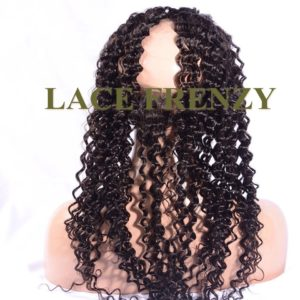 Virgin Human Hair - Deep Wave - 360 Lace Frontal