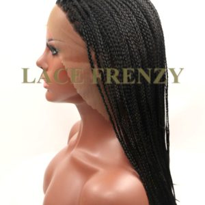 Kayleah- 14 Inches - Box Braids - Lace Front Wig