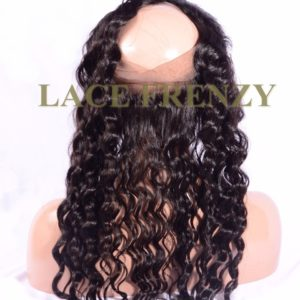 Virgin Human Hair - Loose Wave - 360 Lace Frontal