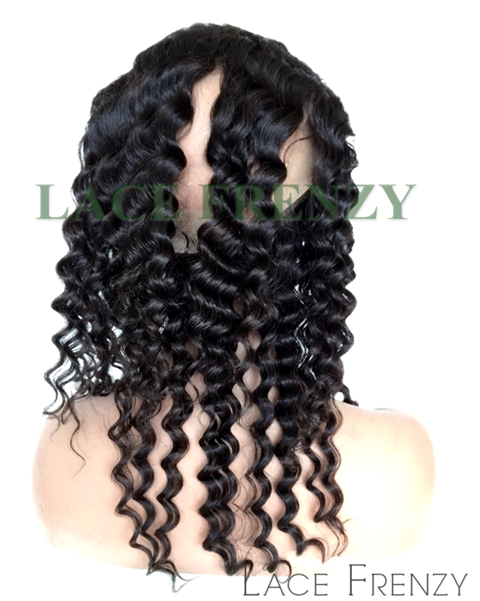 Malaysian Virgin Human Hair - Deep Wave - 360 Lace Frontal