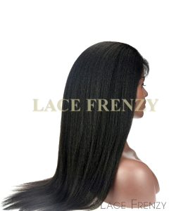 Custom Virgin Human Hair - Kinky Straight - Full Thin Skin Wig