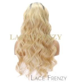 Custom Virgin Human Hair - Two Toned -Body Wave- Full Thin Skin Wig