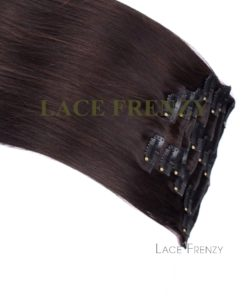 Virgin Human Hair - Straight- 8pcs Clip-In Hair Extension