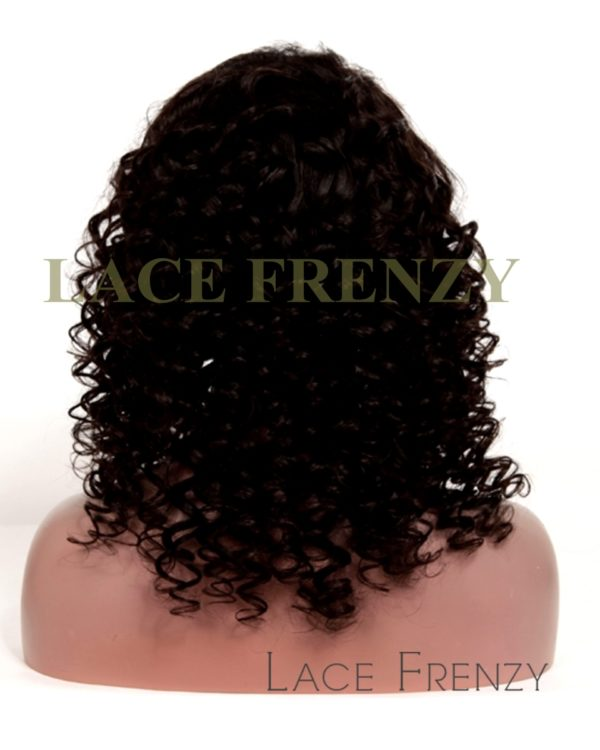 Joanna -Chinese Virgin Hair 18 Inches - Coarse Loose Curl - Glueless Wig