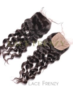 Wavy - Virgin Human Hair - Silk Top Closure