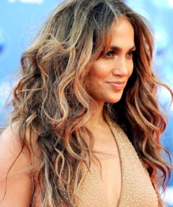 Jennifer Lopez- Two Tone Wavy- Celebrity Custom Lace Wig