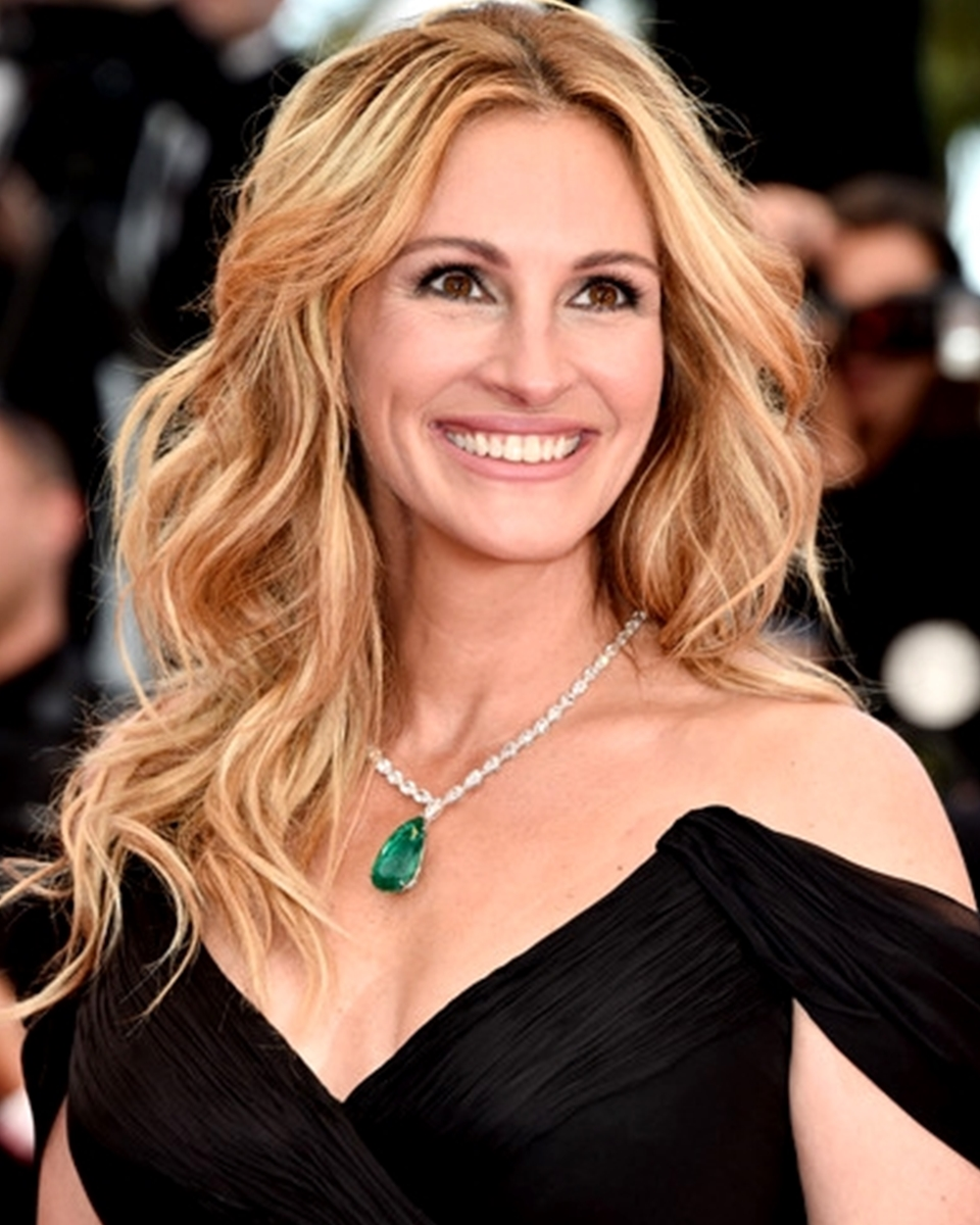 Julia Roberts- Loose Curl - Celebrity Custom Lace Wig