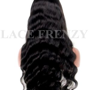 Lillia- Wavy - Virgin Human Hair- Full Lace Wig w/Thin Skin