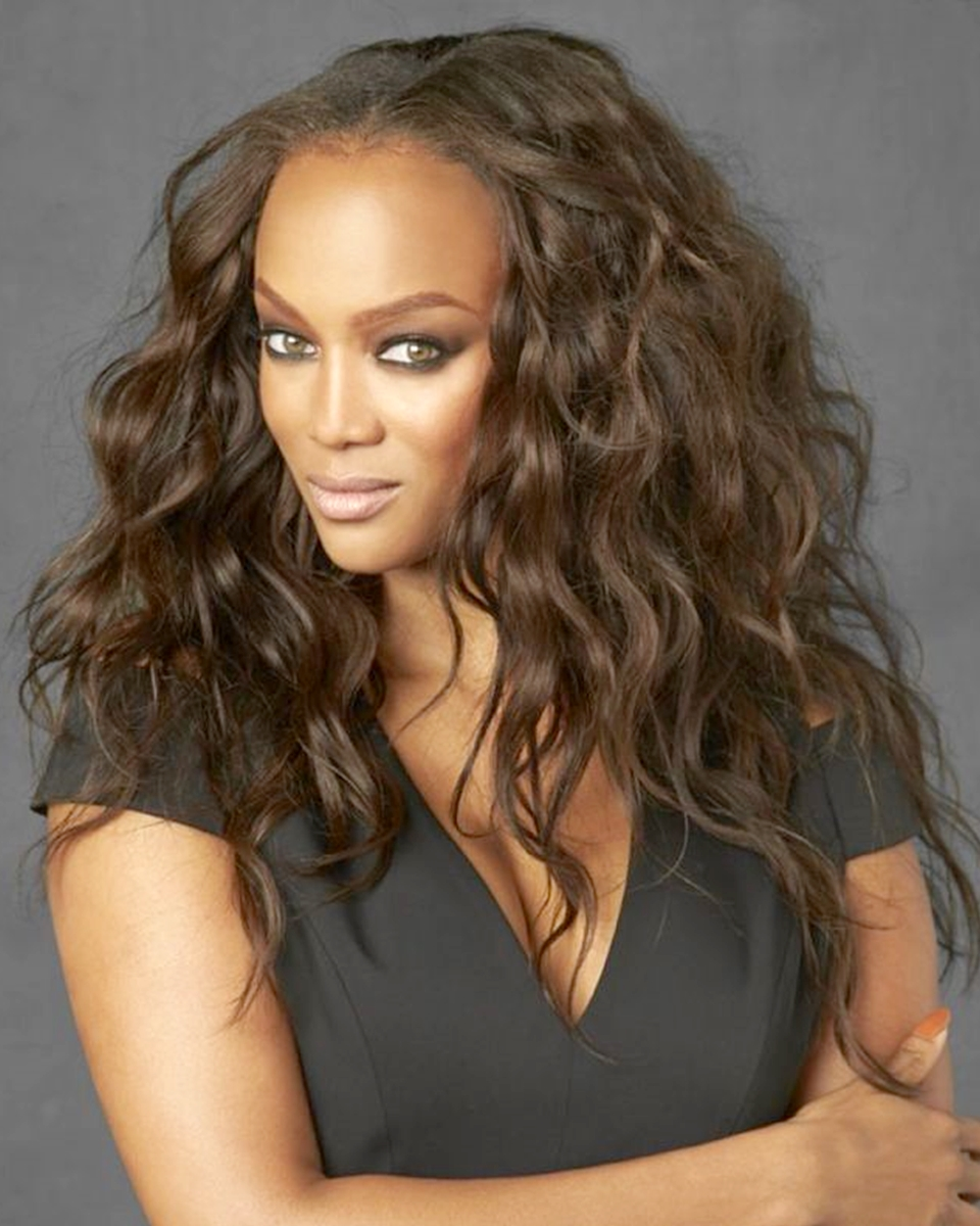 Tyra Banks - Wavy- Celebrity Custom Lace Wig