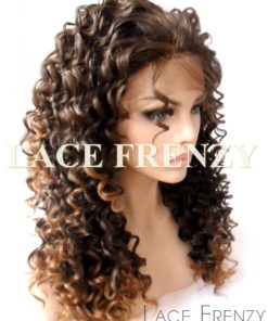 Candi - Spiral Curls Two Toned - Lace Front Wig
