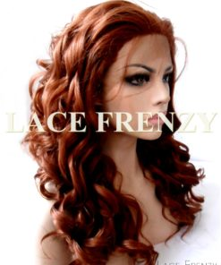 Ginger - Big Curls - Lace Front Wig