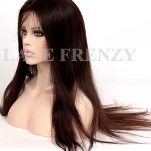 Lisette- Natural Straight - European Virgin Hair - Silk Top Full Lace Wig