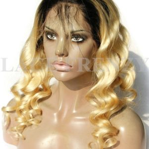 Sammi - Body Curl- Two Toned-Full Lace Wig