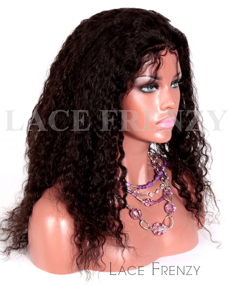 Livv - Spanish Wave - Brazilian Virgin Hair - Glueless Full Lace Wig