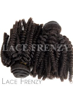 Indian Remy Hair - Spiral Tight Curls - 200G Machine Weft - Bundle Kit