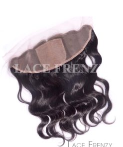 Wavy - Virgin Human Hair - 13x4 Inches - Silk Base Lace Frontal