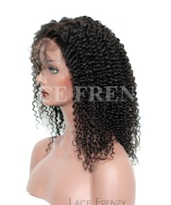 Eliana- Deep Curly - Brazilian Virgin Hair - Silk Top Lace Front Wig