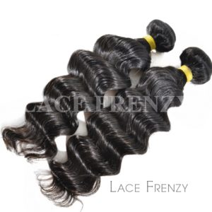Loose Wave -Grade 10a Virgin Human Hair -200G Machine Weft Bundle