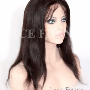 Neema- Natural Straight-Virgin Human Hair- Full Lace Wig w/Thin Skin