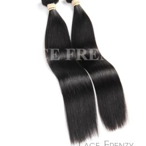 Straight - Grade 10a Virgin Human Hair -200G Machine Weft Bundle
