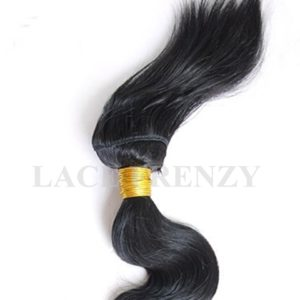 Grade 6a Virgin Human Hair -Body Wave Braid-in Bundle