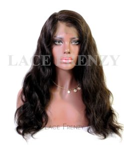 Virgin Human Hair - Body Wave - 360 Frontal Wig