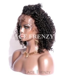 Dariann- Afro Curly - Chinese Virgin Hair - Silk Top Lace Front Wig