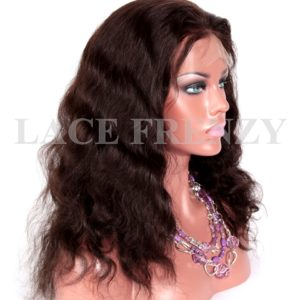 Nycola- Natural Wave- Indian Remy Human Hair Full Lace Wig