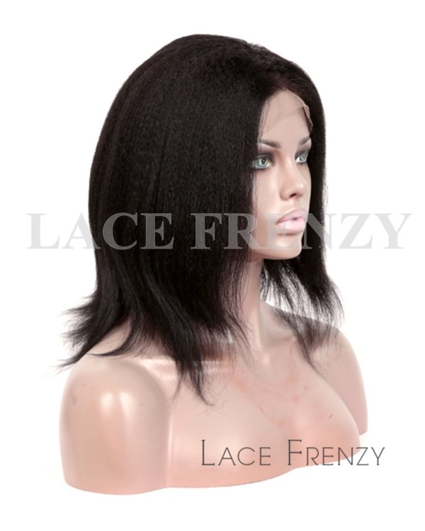 Patricia- Kinky Straight- Indian Remy Human Hair Full Lace Wig