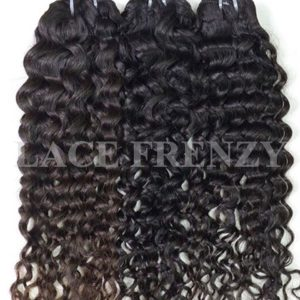 Curly - Raw Indian Human Hair Layered Bundles