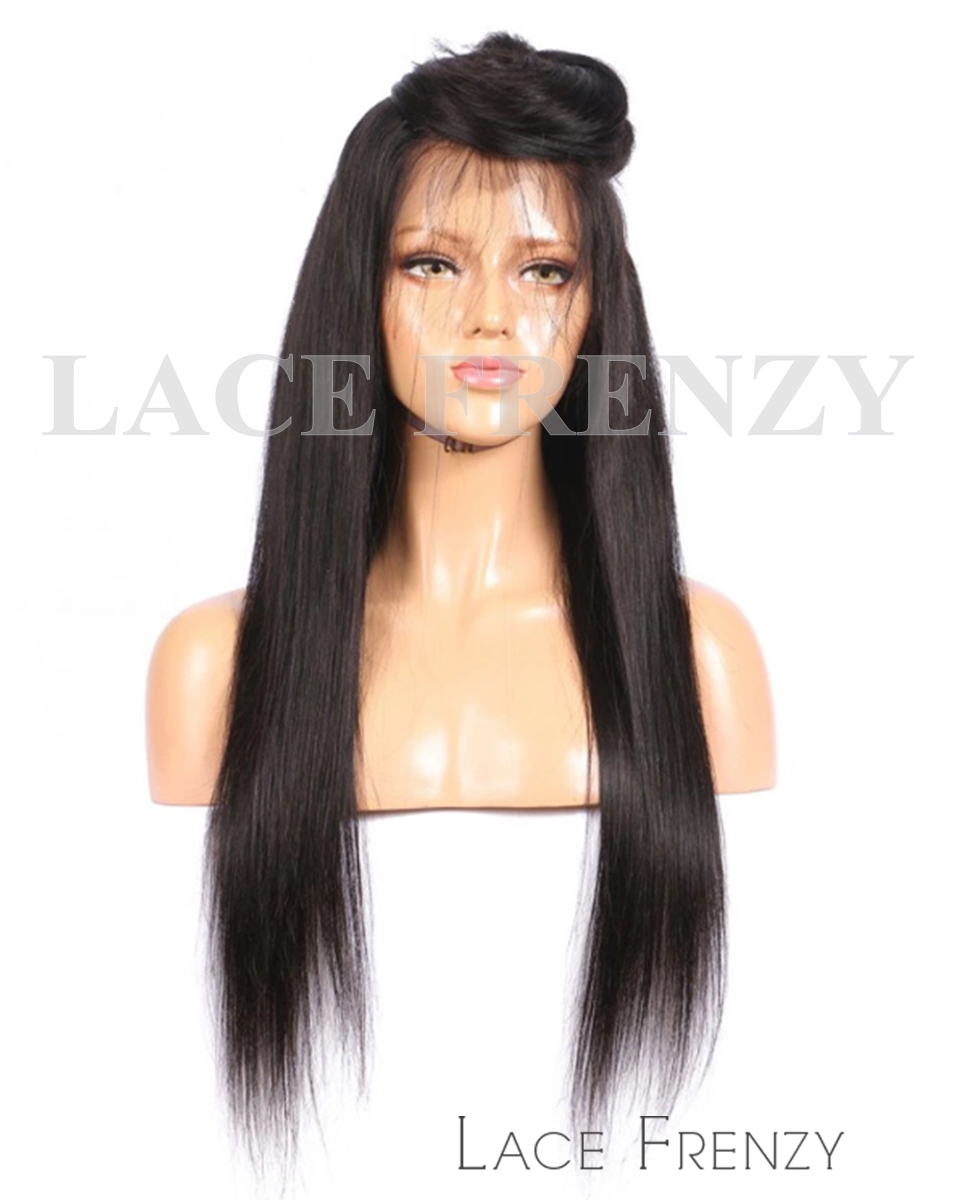 Virgin Human Hair - Straight- 360 Frontal Wig