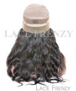 Virgin Human Hair - Natural Wavy - 360 Frontal Wig