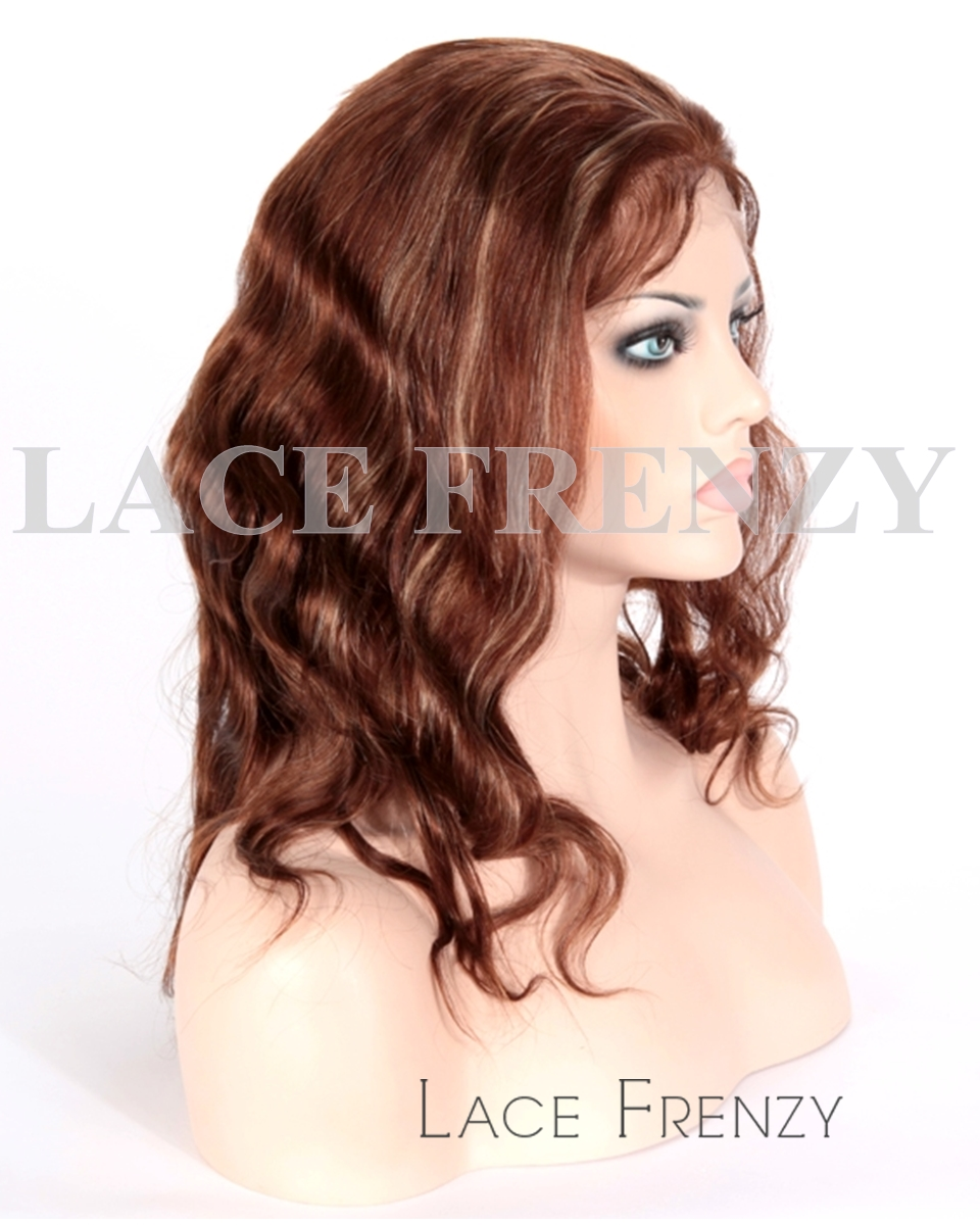 Torianne - Indian Remy Hair - Body Wave - Full Lace Wig