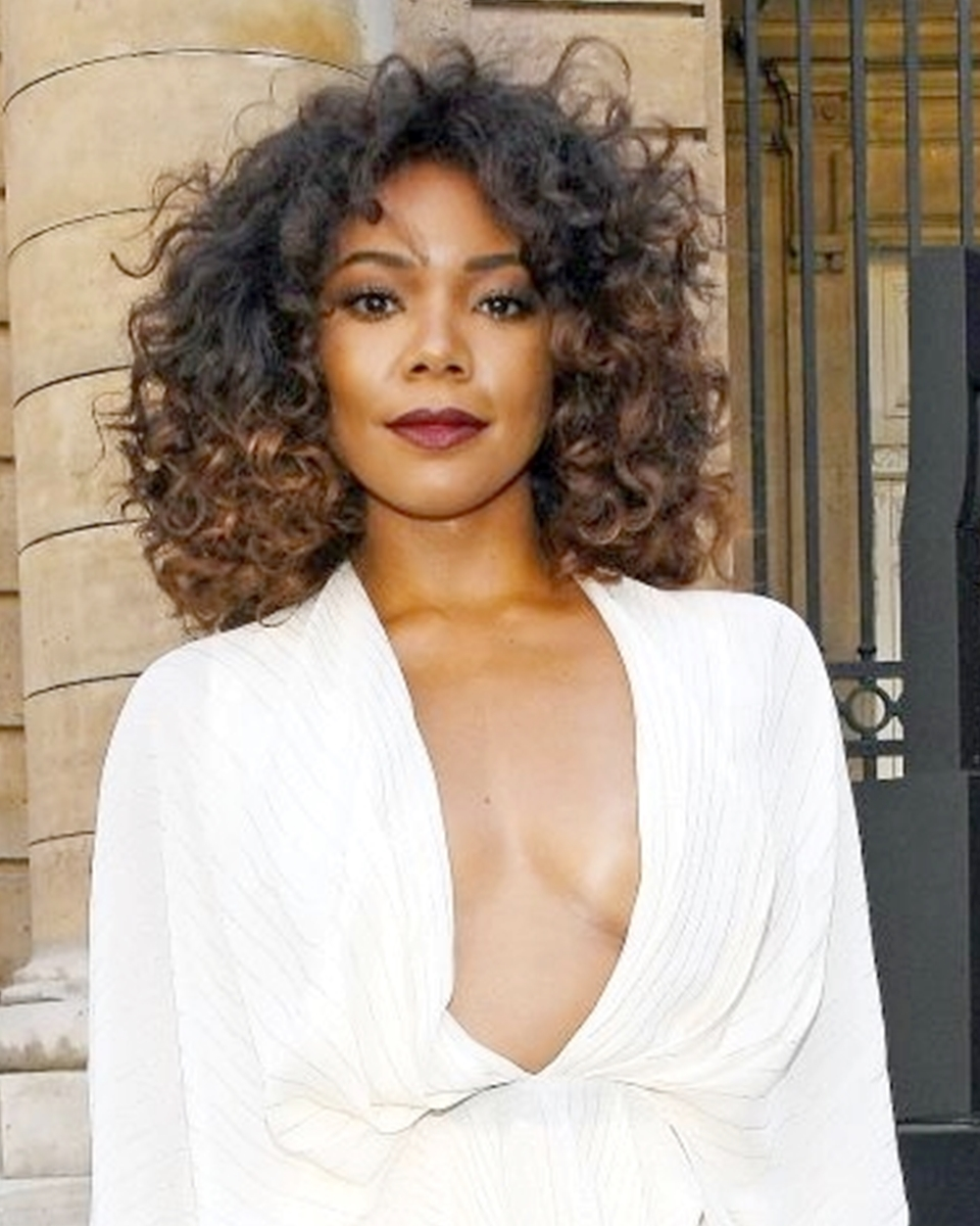 Gabrielle Union - Bouncy Curls - Custom Celebrity Lace Wig
