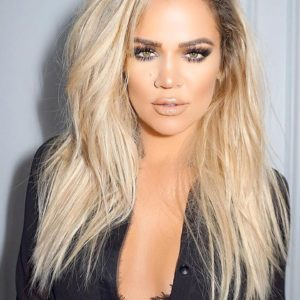 Khloe' Kardashian Two Toned Straight - Celebrity Custom Lace Wig