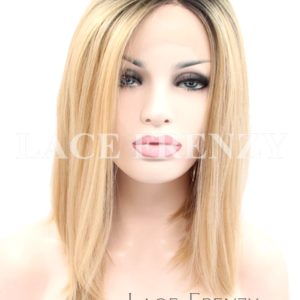 Terriann -12 Inches - Two Toned Bob Styled - Lace Front Wig