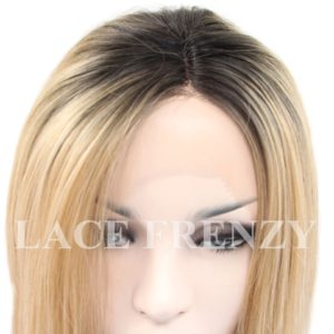Terrianne -12 Inches - Two Toned Bob Styled - Lace Front Wig