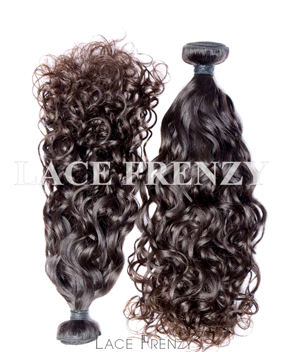 Water Wave- Malaysian Virgin Human Hair 200G Machine Weft